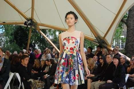 Collaged Floral Dresses