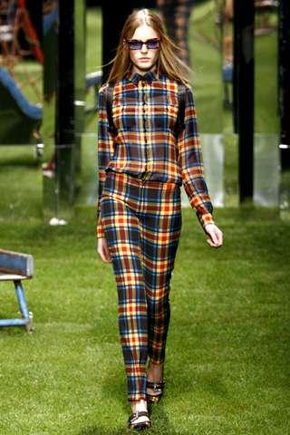Multi-Plaid Fashion
