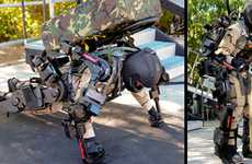 Kickass Iron Man Suits - Raytheon Develops Real-Life Iron Man Suits