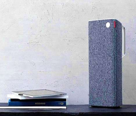 Sleek Free-Range Speakers