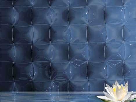 Brilliant Rippling Tiles