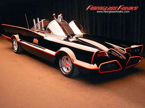 Superhero Auto Parts - Fans Can Now Buy Original Batmobile Parts
