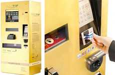 Gilded ATMs - North America to Follow Abu Dhabi's Gold-Dispensing Machines