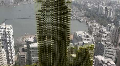 Recycled Slum Skyscrapers