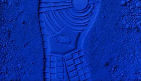Blue Shoe Art