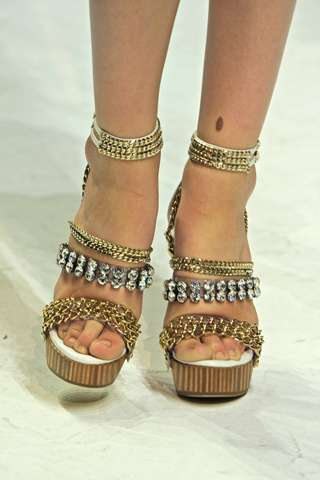 Bride-Inspired Footwear