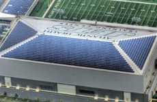 Super Solar Stadiums - The New York Jets Installs 3,000 Solar Panels in their Training Facility