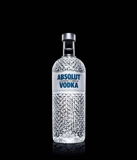 Glistening Vodka Bottles