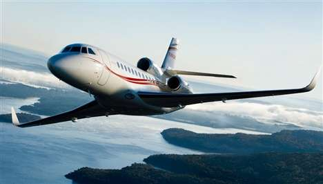 Fly the Friendly Skies on the $42 Million Dassault Falcon 900LX Jet