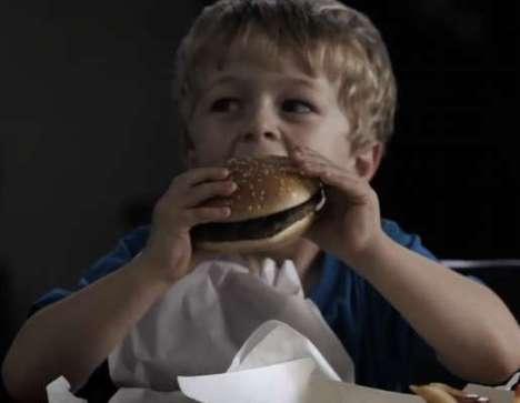 Druggie Hamburger Ads