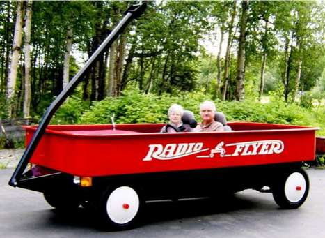 Fred Geller and Judy Foster's Radio Flyer Car Retirement Project