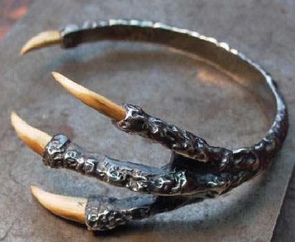 Creepy Claw Bracelets