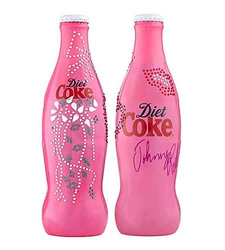 Crystallized Soda Bottles