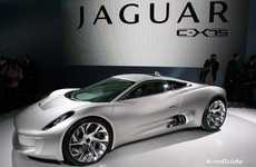 Swanky Hybrid Supercars - Jaguar Launches their New Jaguar C-X75 Electric Concept Car