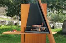 Sculptural Fire Pits