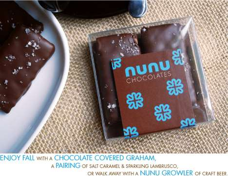 Absinthe Chocolate - Nunu Chocolates Will Encourage Visits From the Green Fairy