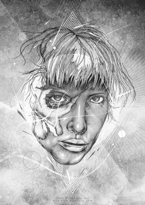 Skinned-Off Illustrations