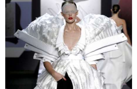 Collaged Runway Looks