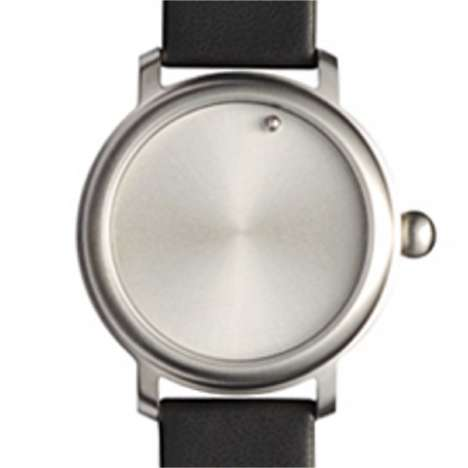 Handless, Numberless Timepiece - Odd Ball Minimalist Watch
