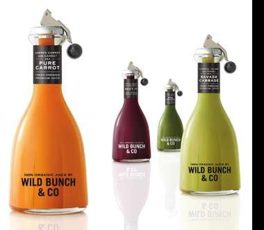 High-End Organic Juices