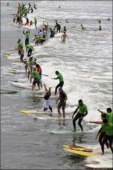 Record Surf Stunt