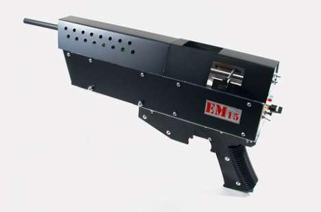 High Velocity Coil Guns