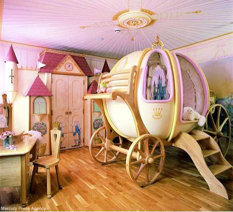 Luxury For Your Princess Designer Kids Rooms