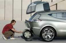 Segway-Friendly Concept Car - Chevy E-Flex