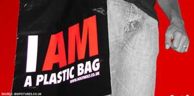 """I AM A Plastic Bag"" Tote - Gossip Site Mocks Trend"