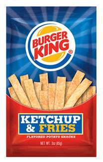 Burger King Potato Snacks