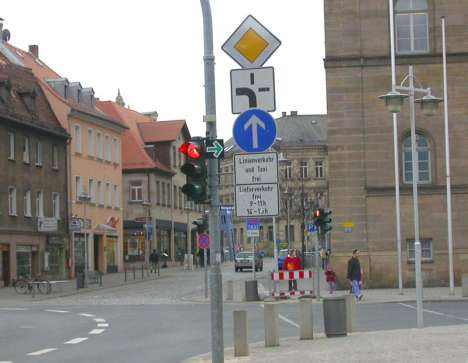 Germany Removes Road Signs