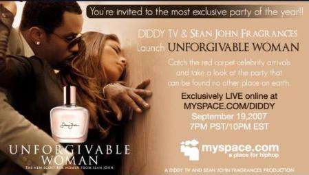 P. Diddy Party Live On MySpace