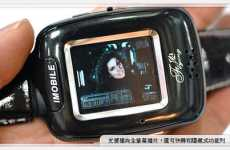 Smallest Touch-Screen Phone - C1000 Golf Watch