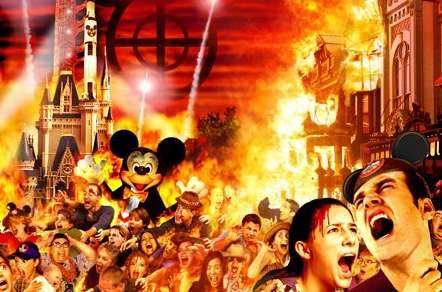 Destroy The Magic Kingdom - Los Disneys Game