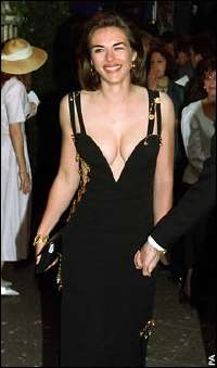 Think, that Elizabeth hurley see through dress maybe, were