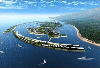 Russia Builds Fake Island