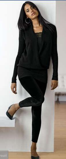 Trouser-Legging Hybrid