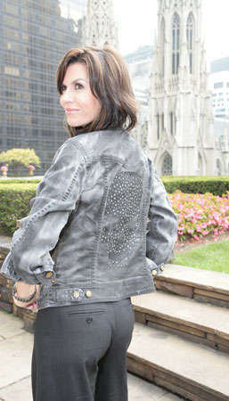 Celebrities Design Swarovski Jackets for Charity