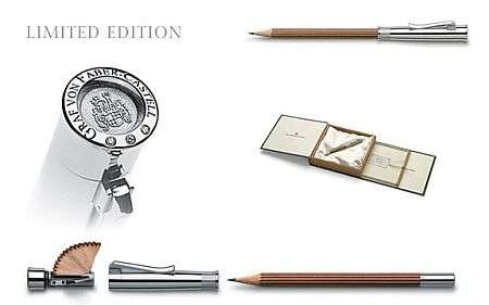 $13,000 Pencil - Graf von Faber-Castell Perfect Pencil