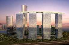 Green Abu Dhabi Development - Resembles Stonehenge