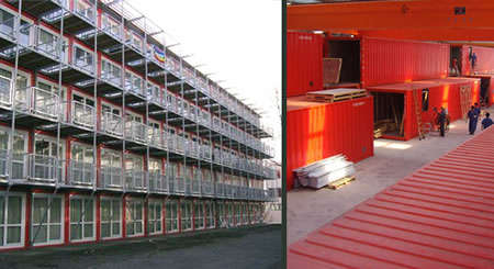 Contained Living - TempoHousing In Sea Containers