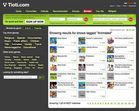 Social Network For TV