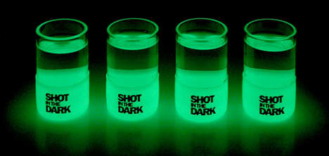 Shot In The Dark - Glow-In-The-Dark Shot Glass