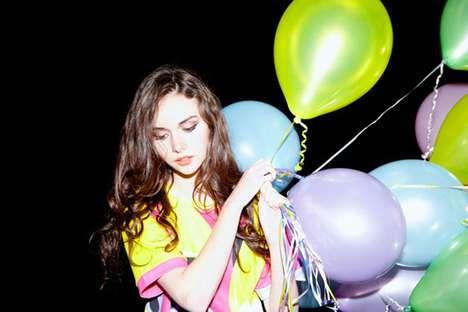 Balloon-Bearing Babes