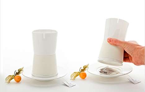 Slotted Tea Cups