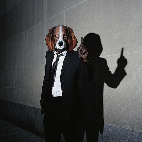 Dog-Masked Photography