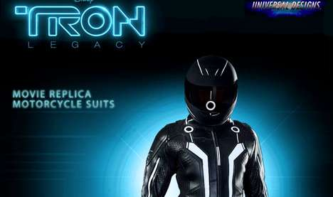 Sci-Fi Biker Gear - The Limited Edition His & Hers Tron Motorcycle Suits