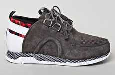 Two-Faced Sneakers - The Adidas Originals Kazuki Creeper Features Multi-Faceted Styling