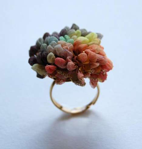 Funky Fabric Jewelry