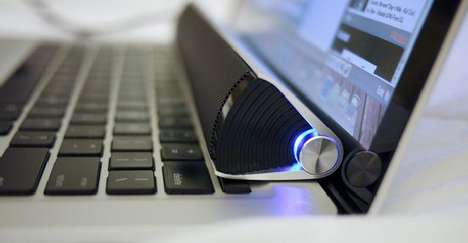 Sleek Laptop Speakers